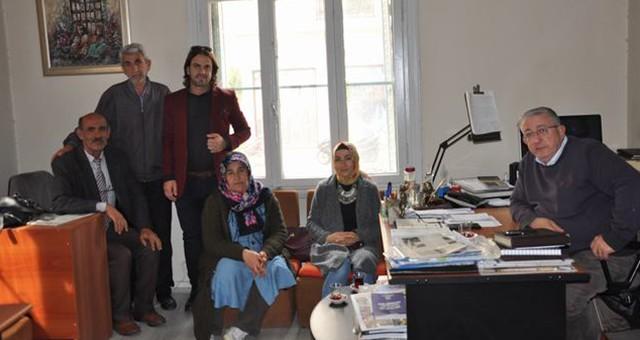 HDP Meclis Üyelerinden Gazetemize Ziyaret