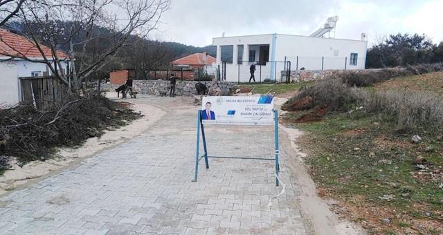Çiftlik Mahallesi'nde parke kaplama çalışması tamamlandı