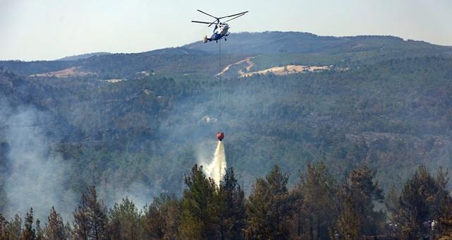 Muğla yangınlarına yönelik hava ve kara gücüne takviye