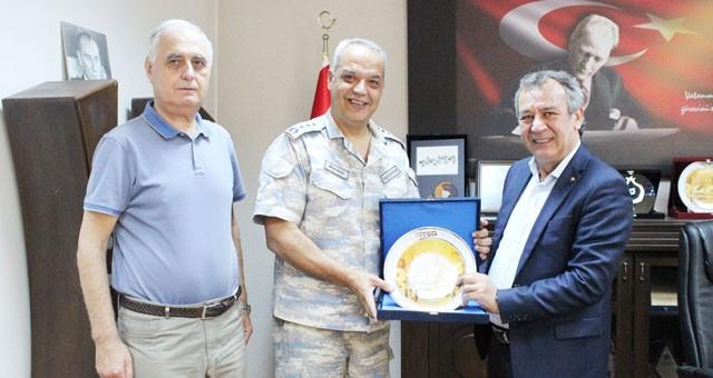 Garnizon Komutanı Albay Mersincik MİTSO'da...