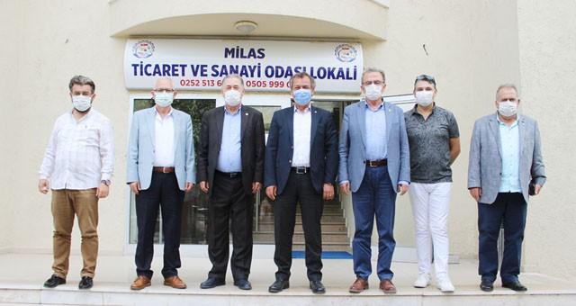 CHP'li Milletvekilleri, MİTSO'ya ekonomiyi sordu