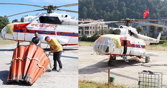 Yangın helikopteri Marmaris'te göreve başladı
