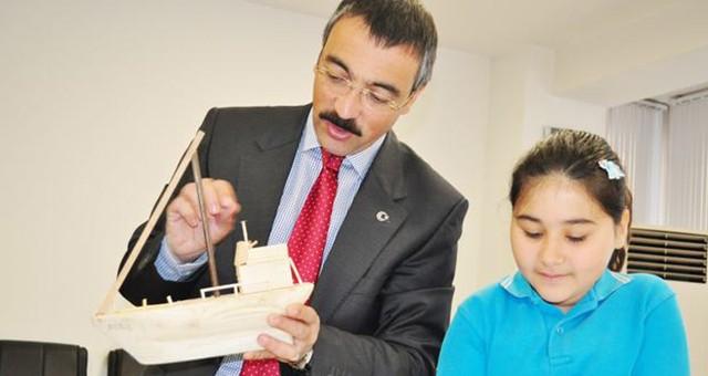 'Palamut Çocukları'ndan Kaymakam Arslan'a ziyaret