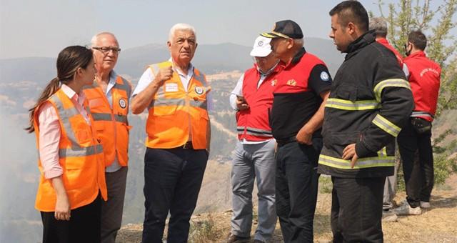 Başkan Gürün bugün Milas'ta yanan köyleri dolaşacak..