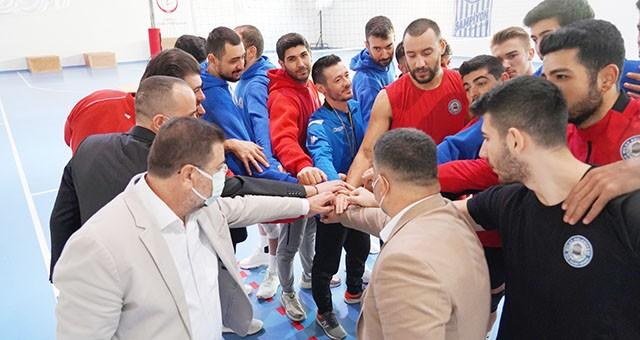 Başkan Tokat Milas Belediyespor antrenmanını ziyaret etti