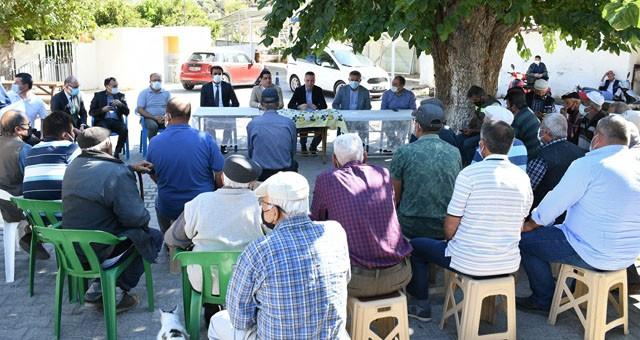 Kaymakam Böke, Pınarcık Mahallesi'nde vatandaşlarla buluştu