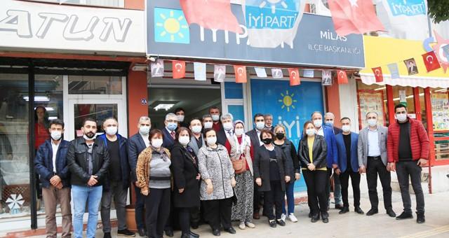 Süt Birliği'nden siyasi partilere nezaket ziyareti