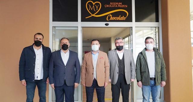 Başkan Tokat'tan Çikolata Müzesi'ne ziyaret