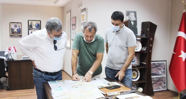 Milliyet Gazetesi orman yangını için MİTSO'ya geçmiş olsun dedi
