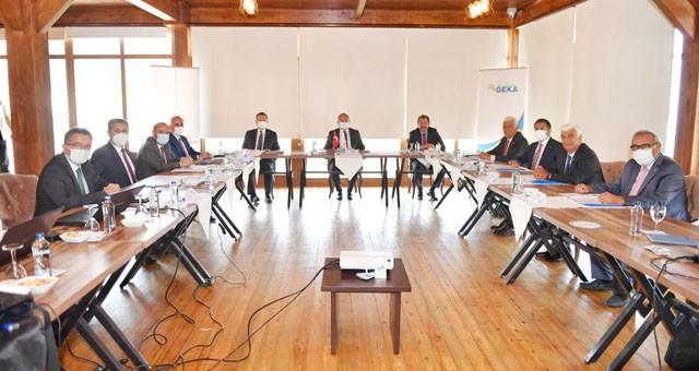 Güney Ege Kalkınma Ajansı'nın 143'üncü Yönetim Kurulu Toplantısı Denizli'de Yapıldı