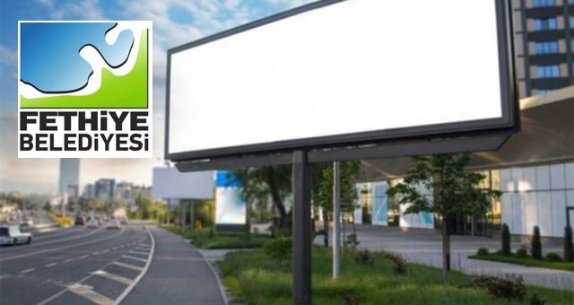 Fethiye'de dijital reklam ve bilgi ekranları kiraya verilecek