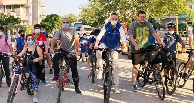 """Milas Kaymakamı Mustafa Ünver Böke; """"Bisikletin yaşamımızın bir parçası haline gelmesini sağlamalıyız"""""""