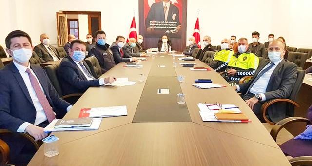 Cumhurbaşkanlığı Bisiklet Turu için toplantı