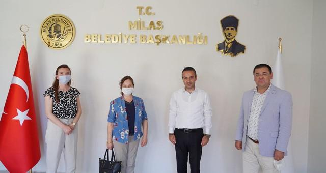 Seğmen Su Genel Müdürü, Başkan Tokat'ı ziyaret etti