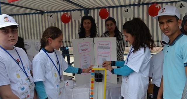 Öğrenciler projelerini sergilediler