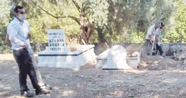 Babalık davasında, 35 yıl sonra mezar açıldı