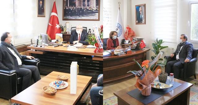 Süt Birliği'nden Başkan Yardımcıları İlter ve Gökçe'ye ziyaret