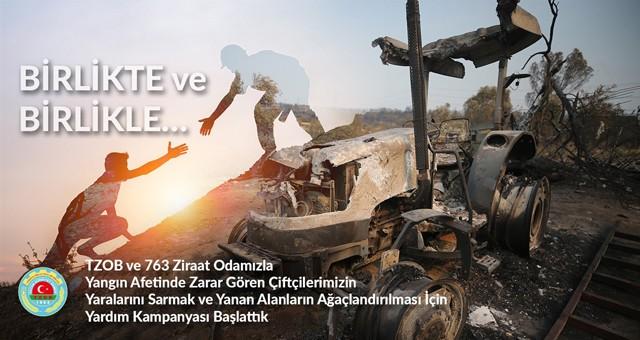  TZOB yardım kampanyası başlattı