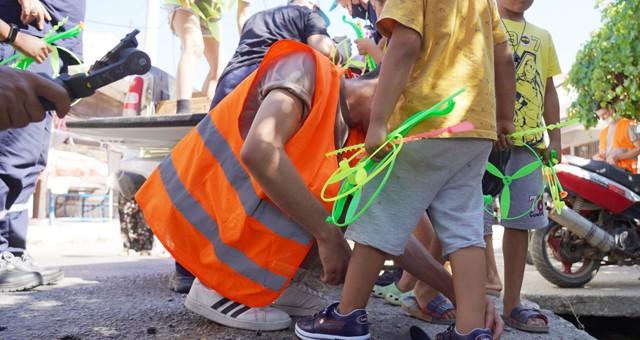 Milas Belediyesi yaraları sarmaya devam ediyor
