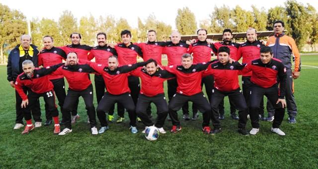 Antalya Masterler Futbol Turnuvası'na hazırlanıyorlar