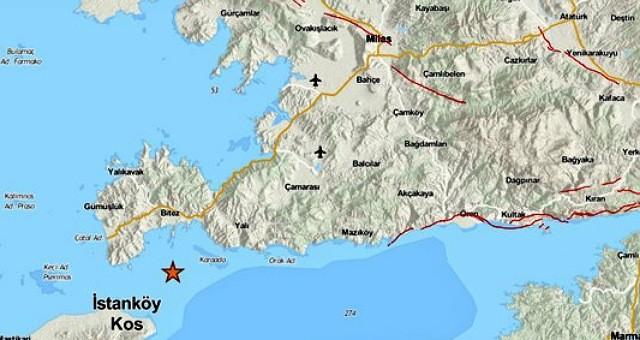 4.1'lik deprem Milas'ı salladı