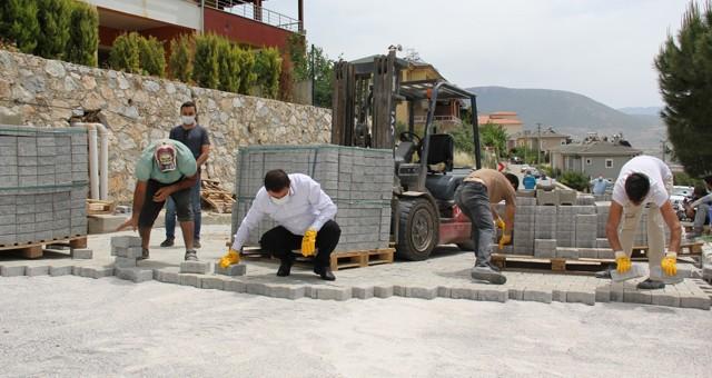 Milas Belediyesi tam kapanma döneminde de boş durmuyor