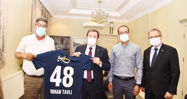 Muğla Fenerbahçeliler Derneği'nden Vali Orhan Tavlı'ya ziyaret