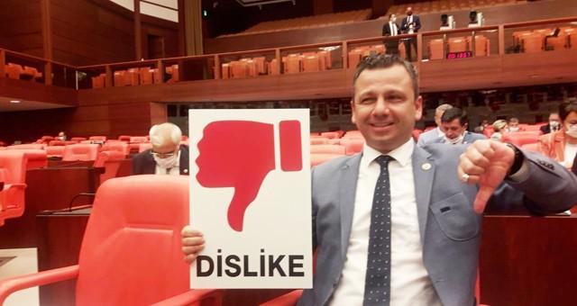"CHP'li Erbay: ""Gençler 'OY MOY YOK' dedi, AKP sosyal medyayı yasakladı"""