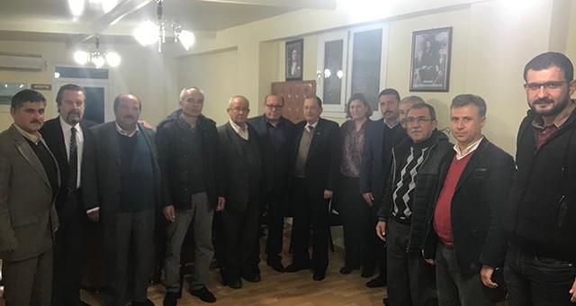 MHP'den Kooperatif Yönetimine ziyaret…