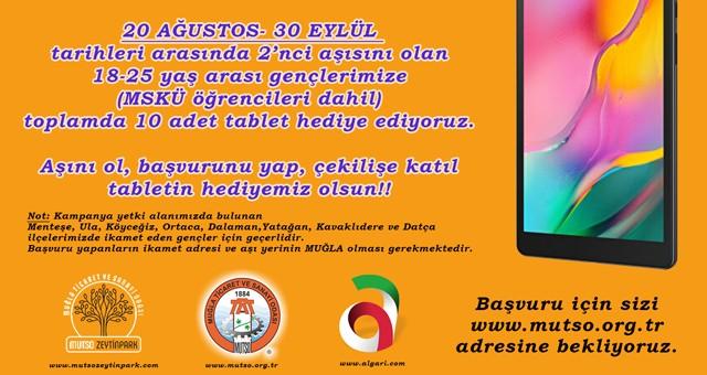 Muğla Ticaret ve Sanayi Odası'ndan tablet kampanyasına davet