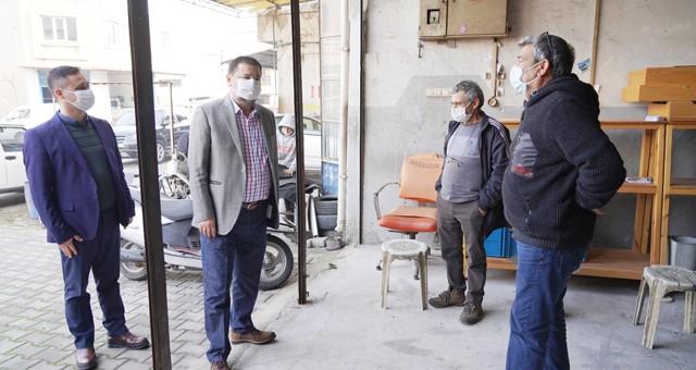 Başkan Tokat, sanayi esnafını ziyaret etti