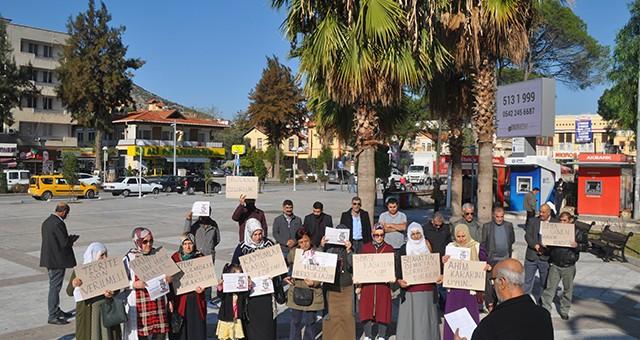 HDP'DEN DEMİRTAŞ PROTESTOSU