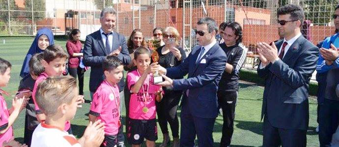 Küçükler Futbol Turnuvası Şampiyonu Merkez İlkokulu Oldu