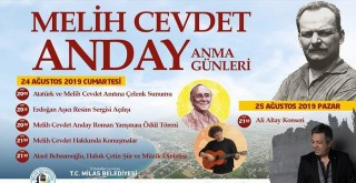 Melih Cevdet Anday Anma Günleri 24-25 Ağustos'ta Ören'de..