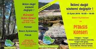 KÜRESEL İKLİM GREVİ BUGÜN SAAT 16.00'DA