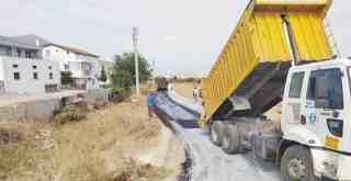 Milas Belediyesi'nin sathiasfalt çalışmaları sürüyor