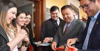 Hukuk ve Danışmanlık Bürosu açılışına siyasilerden yoğun ilgi…