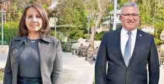Yeni Belediye Başkan Yardımcıları Cüneyt İlter ve Gülşen Gökçe