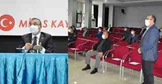 Kaymakam Arslan Başkanlığı'nda  İlçe İdare Şube Başkanları  toplantısı gerçekleştirildi