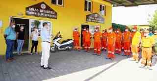 Milas Belediyesi, Temizlik İşleri Müdürlüğü kadrosunu güçlendirdi..