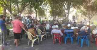 """BAFA'DAKİ HALK TOPLANTISINDA """"ILBIRA DAĞI PLATFORMU"""" KURULDU"""