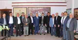 Nurol Başkan hem ziyaret etti, hem de ziyaret edildi…