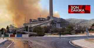 Kemerköy Termik Santral yanıyor, Ören boşaltılıyor