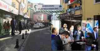 Davutoğlu Milas'taydı.. Partisinin Hizmet Binasını Açtı..