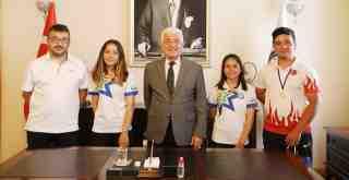 Antalya'dan 12 madalya ile döndüler