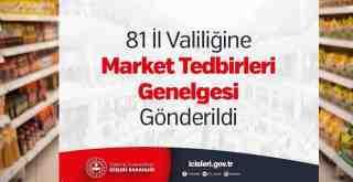 Marketlerde Gıda ve Temizlik Maddesi dışında ürün satışı yasaklandı..