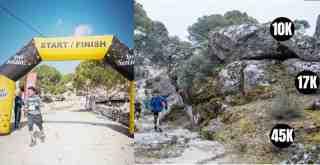 Milas'ın ilk ve tek ultra maratonu yapıldı…