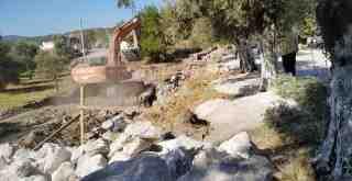 Milas Belediyesi mahallelerdeki çalışmalarını sürdürüyor
