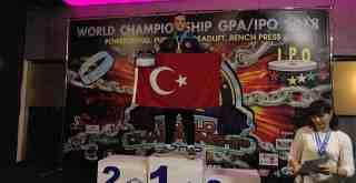 Milas'ın altın madalyalı şampiyonu