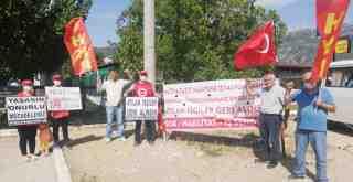 HKP'liler Çınartaş Işçilerine destek ziyareti yaptı